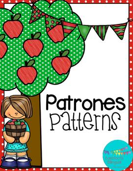 Apples! Patterning Printable FREEBIE!