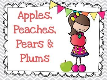 Apples, Peaches, Pears, and Plums: Steady Beat vs Rhythm