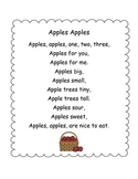 Apples Poetry Center Pack