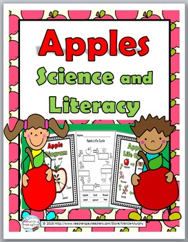Apple Life Cycle Science & Literacy - Apple Unit - Apple A
