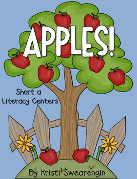 Apples! Short A Literacy Centers