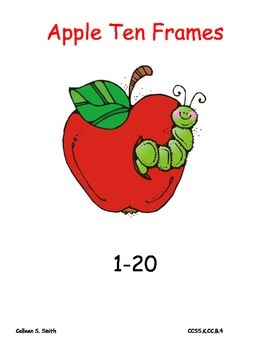Apples Ten Frames/ number recognition