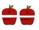 Apples Ten Frames Match