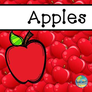 Apples:  Ten Frames and Number Cards