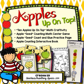 Apples Up On Top --- Apple Counting, Number Recognition an