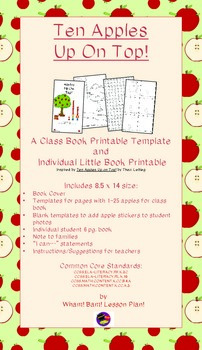 Apples Up On Top! class book and individual student book t