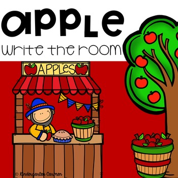 Apple Themed Write the Room