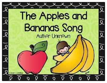 Apples and Bananas Song