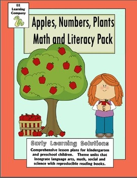 Apples and Trees Math and Literacy Pack