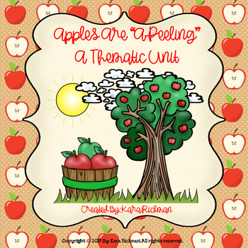 """Apples are A """"Peeling"""": A Thematic Unit Grades 1-3"""