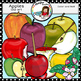 Apples clip art -Color and B&W- 48 items!