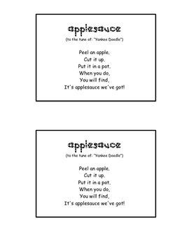 """""""Applesauce"""" song"""