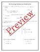Application of Systems of Equations Guided Notes, Powerpoi