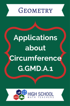 Applications about Circumference Lesson Plan G.GMD.A.1