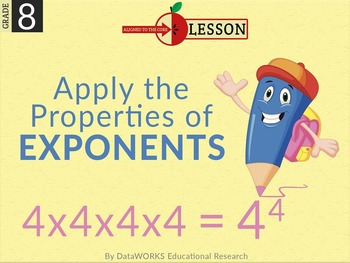 Apply the Properties of Exponents
