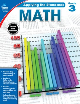 Applying the Standards Math Grade 3 SALE 20% OFF 104849