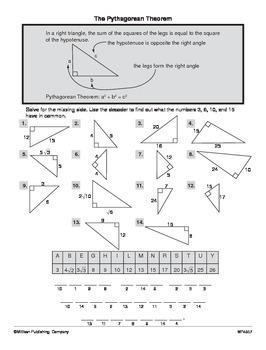 Applying the Pythagorean Theorem (CCSS 8.G.B.7)