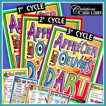 Apprécier les oeuvres d'art: 1er, 2e et 3e cycles, arts pl