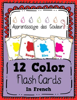 Apprentissage des Couleurs - Learn the Colors in French -