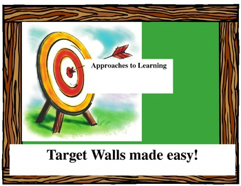 Approaches to Learning Drop Down List for Target Wall