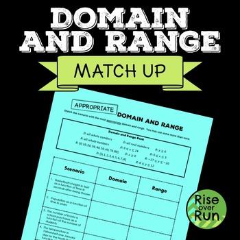 Domain and Range