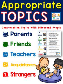 Appropriate Topic Conversations for Perspective Taking and