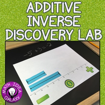 Additive Inverse and Integers Discovery Lab 7.NS.A.1