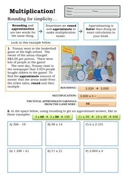 Approximating and Multiplication