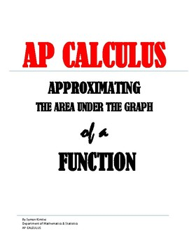 Approximating the area under a graph of a function