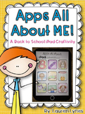 Apps All About ME! {A Back to School iPad Craftivity}