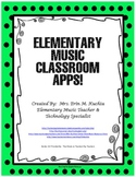 Apps For The Elementary Music Classroom!!