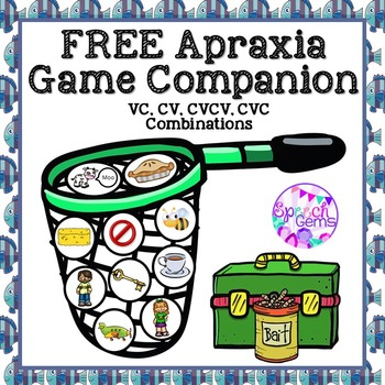 FREE Apraxia Game Companion