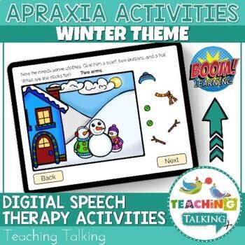 Winter Apraxia Activities