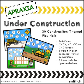 Apraxia Under Construction