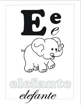 Aprende Español: Letra E