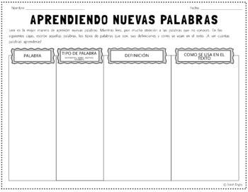 Aprendiendo Nuevas Palabras: Spanish WS for Learning New W