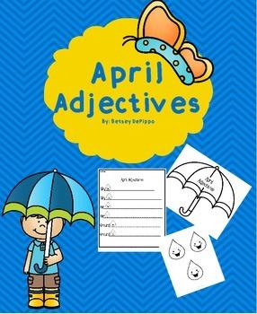 April Adjective Umbrella