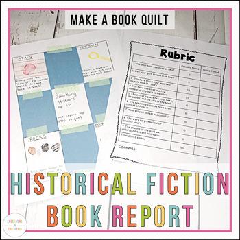 April Book Report: Historical Fiction Book Quilt