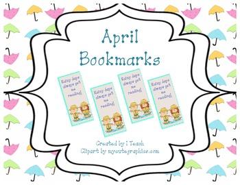 April Bookmarks