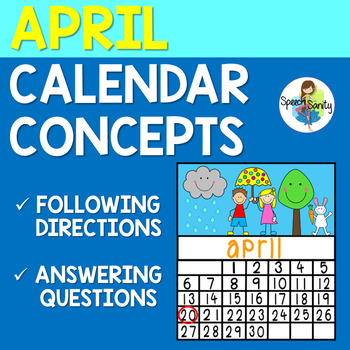 April Calendar Concepts: Following Directions & Answering