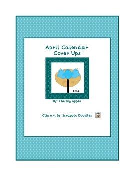 April Calendar Cover Ups
