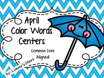 April Color Words Matching