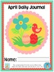 "April Daily Journal - Primary Writing Printables PLUS ""I C"