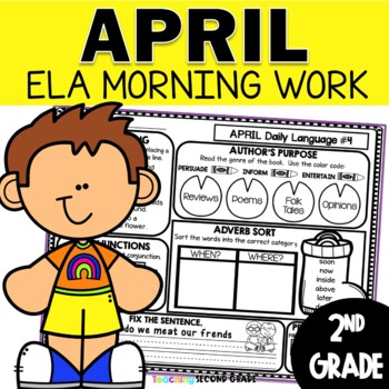 April Daily Language 2nd Grade