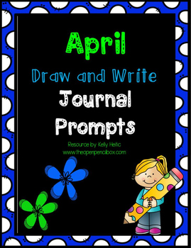 April Draw and Write Journal Prompts