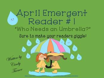April Emergent Reader #1