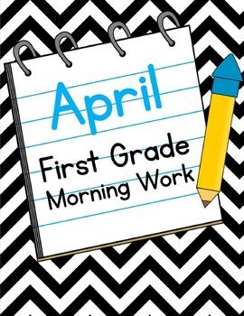 April First Grade Morning Work