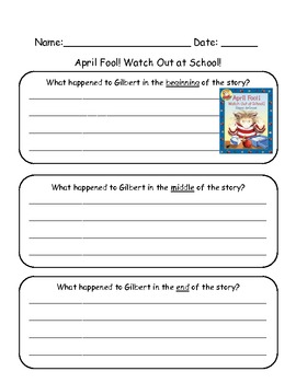 April Fool! Watch Out at School: Beginning, Middle and End