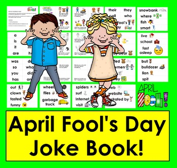 April Fool's Day Booklet of Jokes!