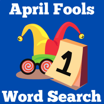 April Fools Day Activity | April Fools Day Word Search